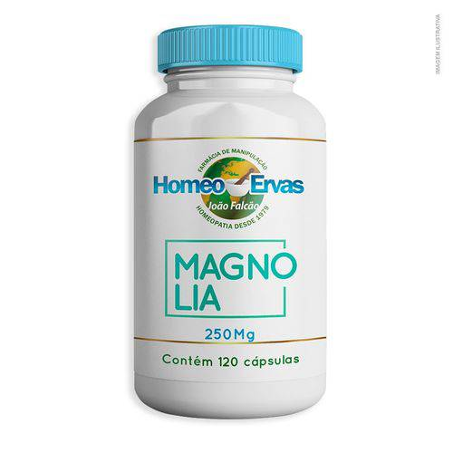 Magnólia 250mg 120 Cápsulas