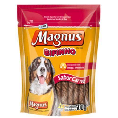 Magnus Bifinho para Cães Sabor Carne 500g