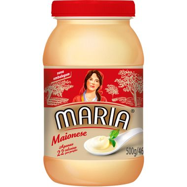 Maionese Maria Pet 500g