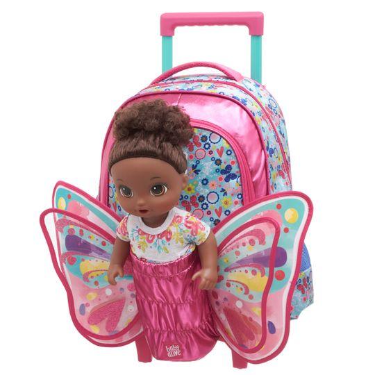 Mala C/Carrinho M Baby Alive Butterfly - M