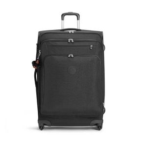 Mala de Bordo Youri Spin 78 Preta True Black Kipling