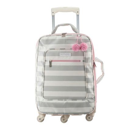 Mala de Rodinha Candy Colors - Rosa - Masterbag