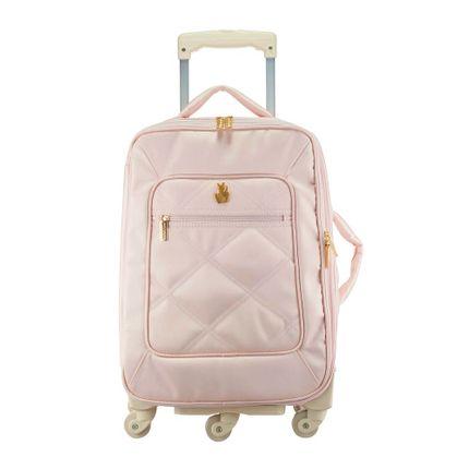 Mala de Rodinha Classic Nylon - Rosa - Masterbag