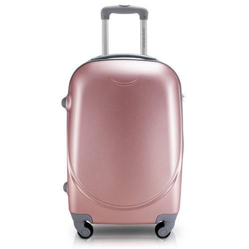 Mala de Viagem Abs Feminina Rosê Select Rodas 360 Jacki Design Apt17537