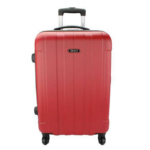 Mala de Viagem com Carrinho 360º P Ys01082 Yins Vermelha