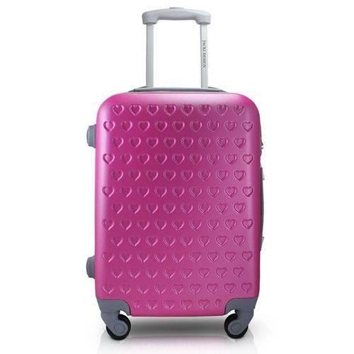 Mala de Viagem Love Viagem ABS Pink - Jacki Design - Jacki Design - Jacki Design