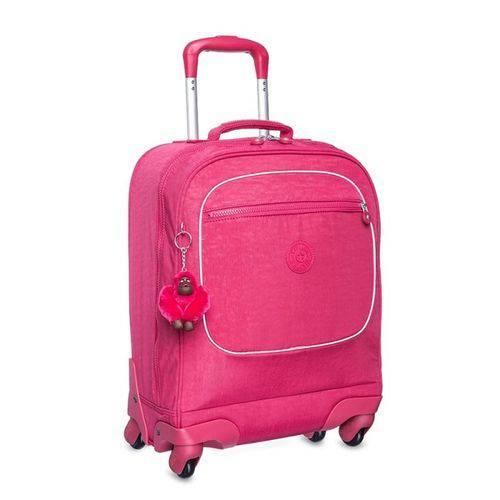 Mala Kipling com Rodinhas Licia Rosa Cerise Pink K3002861Y