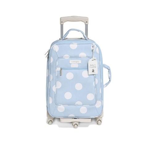 Mala Maternidade com Rodinha Bubbles Azul Masterbag Baby