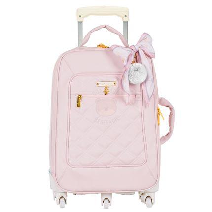 Mala Maternidade com Rodízio Ballet Rosa - Masterbag