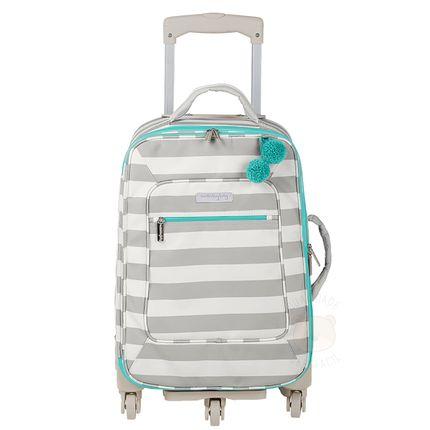 Mala Maternidade com Rodízio Candy Colors Menta - Masterbag