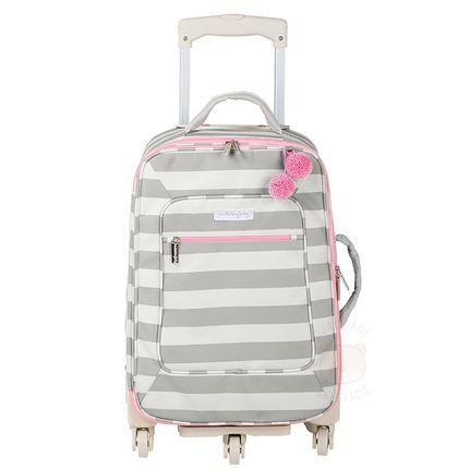 Mala Maternidade com Rodízio Candy Colors Pink - Masterbag