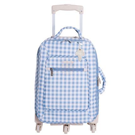 Mala Maternidade com Rodízio Sorvete Azul - Masterbag
