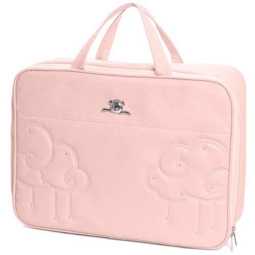 Mala Maternidade Nuvem Rosa XG - Hug Baby