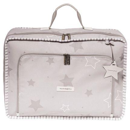 Mala Vintage Estrelas - Cinza - Masterbag