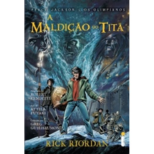 Maldicao do Tita, a - Graphic Novel - Intrinseca