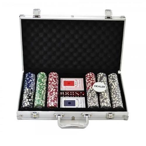 Maleta de Poker Profissional com 300 Fichas