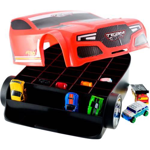 Maleta Torque Twister para 35 Carrinhos Hot Wheels Astro Toys