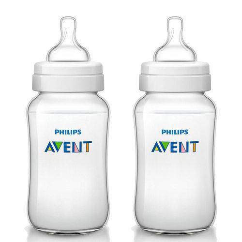 Mamadeira Classic - Bpa Free - 2 Unidades - 125ml - Philips Avent