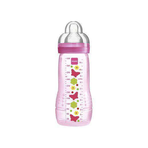 Mamadeira Easy Active Fashion Bottle 330 Ml Girls Borboleta - MAM Baby
