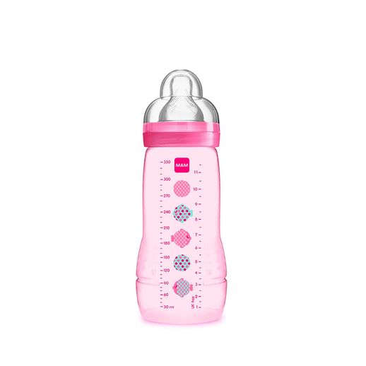 Mamadeira Easy Active Fashion Bottle 330 Ml Girls Peixe - MAM Baby