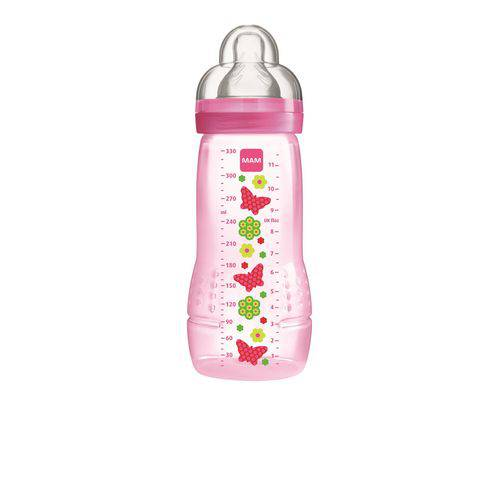 Mamadeira Easy Active Fashion Bottle Girls 330ml MAM