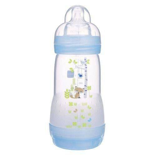 Mamadeira Esterilizavel First Bottle 260ml Azul Mam 4663