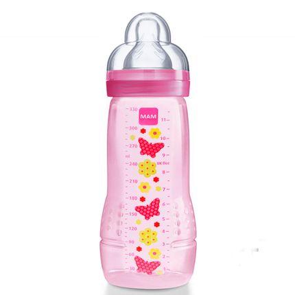 Mamadeira Fashion Bottle (330ml) Girls (4m+) - MAM