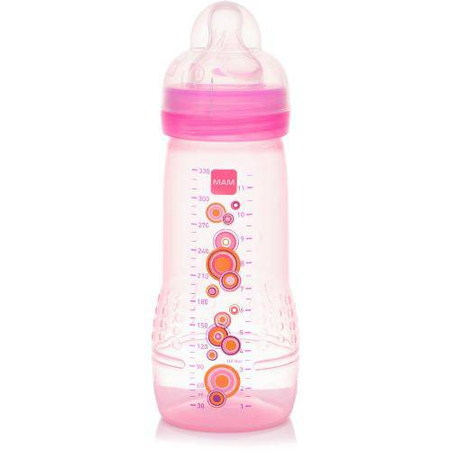 Mamadeira Fashion Bottle Girls Bolas 330ml Mam (4m+)
