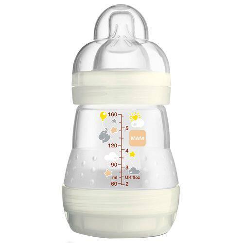 Mamadeira First Bottle (0m+) 160ml Cristal - MAM