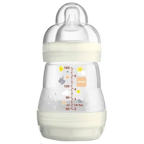 Mamadeira First Bottle (0m+) 160ml - Mam