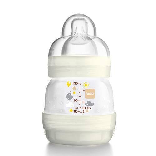 Mamadeira First Bottle (130ml) Neutral (0m+) - Mam