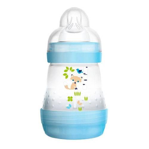 Mamadeira First Bottle Anti-cólica e Auto-esterilizável 160ml Menino - MAM