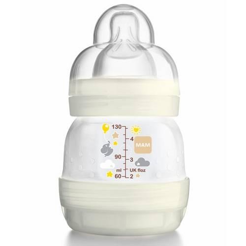 Mamadeira First Bottle Neutra 130ml - Mam