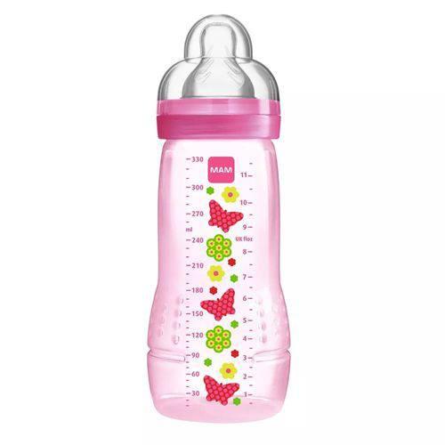 Mamadeira MAM 330ml Easy Active Fashion Bottle Girls – 4m