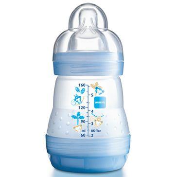 Mamadeira MAM First Bottle Boys 160ml