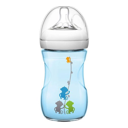 Mamadeira Pétala Azul - BPA Free - 260ml - Philips Avent