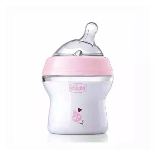 Mamadeira Step Up 150ml 0m+ Rosa - Chicco