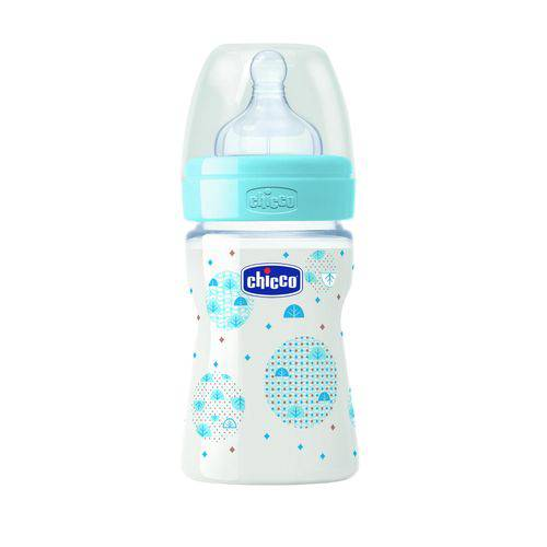 Mamadeira Wellbeing Pp Silicone Chicco 150 Ml Boy 0m