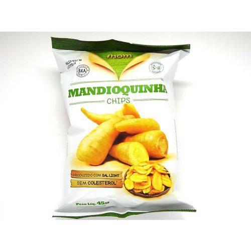 Mandioquinha Chips - Fhom - 45g