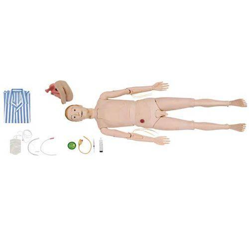 Manequim Bissexual com Órgãos Internos para Treino de Enfermagem Anatomic - Código: Tzj-0502
