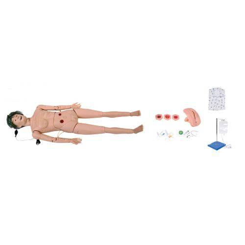 Manequim Feminino Geriátrico Avançado para Enfermagem Anatomic - Tgd-4022-b