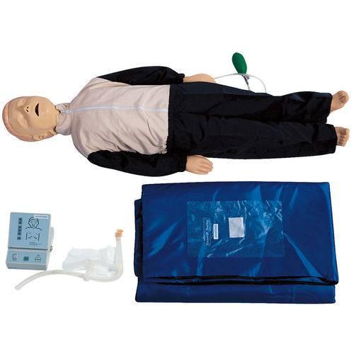 Manequim Infantil Sem Órgãos para Treino de Rcp com Dispositivo de Controle - Anatomic - Tgd-4005-d