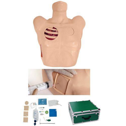 Manequim Torso para Treino de Drenagem Pleural - Anatomic - Código: Tgd-4067