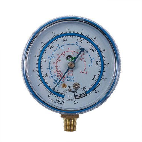 Manômetro Baixa Gás R12 R22 R404 R134