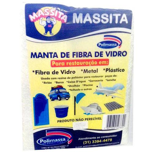 Manta Fibra de Vidro 300 G