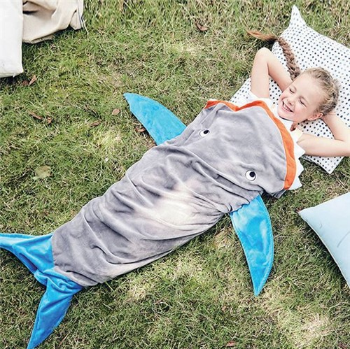 Manta Infantil de Microfibra Saco de Dormir Baleia Bouton