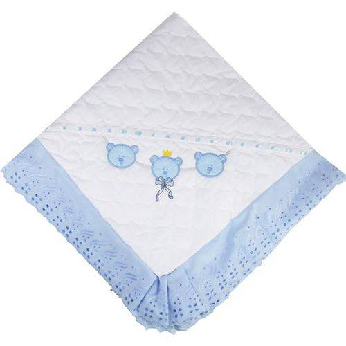 Manta Papy Toys Acolchoada Ursinho 4480