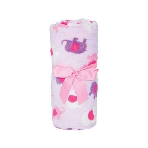 Manta para Bebê Elefantinho 5952 Rosa - Buba