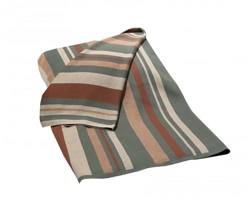 Manta Stripes Listras Color 130x175 Cm - Occa Moderna