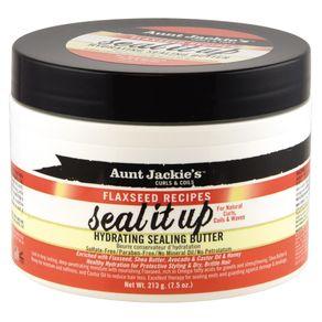 Manteiga Aunt Jackie''s Seal It Up de Hidratação 213ml